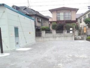 防災広場・倉庫