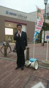 野方駅前160401